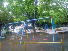 雨の公園オトナ目線から。。。
