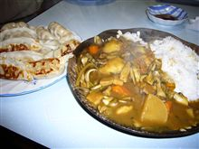餃子&カレー