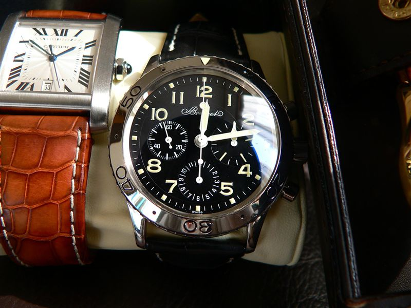 new style 023ba 6953a BREGUET ブレゲ アエロナバル!(初期型) 時計 ...