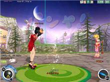 ゴルフしてます(^-^)