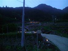 みんなで灯そう千枚田に行ってきました!