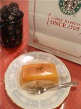 本日のスイーツ「レモンケーキ」