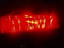 LEDテールを光らせてみた。