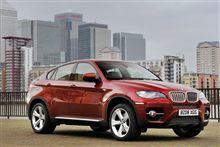 BMW、クーペ+SUVの新モデル「X6」でた!