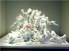 ガンダムのアート展「GUNDAM-来るべき未来のために-」を観に行ってみた。