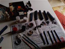 模型の塗装がドロドロ