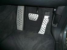 新発売の3DデザインのペダルとフットレストがX5E70に付きました!