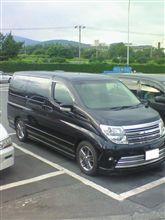 今日も大阪へ豪雨と1000キロ