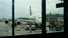 今から最新にして最大なヤツに  A380