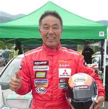 祝)名人 森田勝也さん、SA3クラス3位! 全日本ジムカーナ第5戦