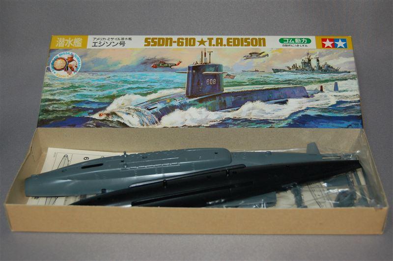 タミヤ、原子力潜水艦トーマス・...