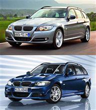 E90/91フェイスリフトモデルのノーマル車とM-sport車を比べて見る
