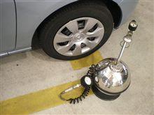 気密性の低いタイヤ?