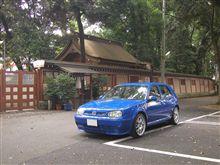 杜の冷気と青GTI