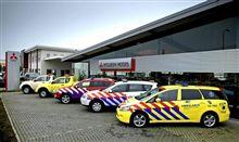 オランダ三菱 の 緊急車両 たち ・・・・
