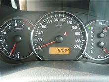 スイスポ オドメーター 5000km