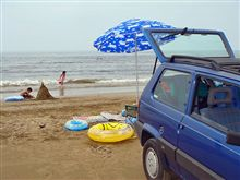 ついに夏休み!海だ!千里浜だ!