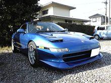 朝から洗車してきました。