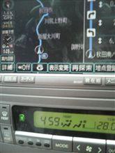 アルファードV 5:00には、秋田市手前