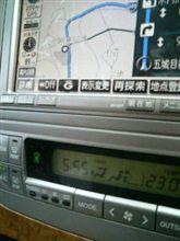 アルファードV 6:00には、上小阿仁道の駅通過