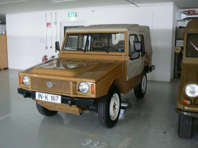 クワトロ開発のきっかけになったVWの軍用車