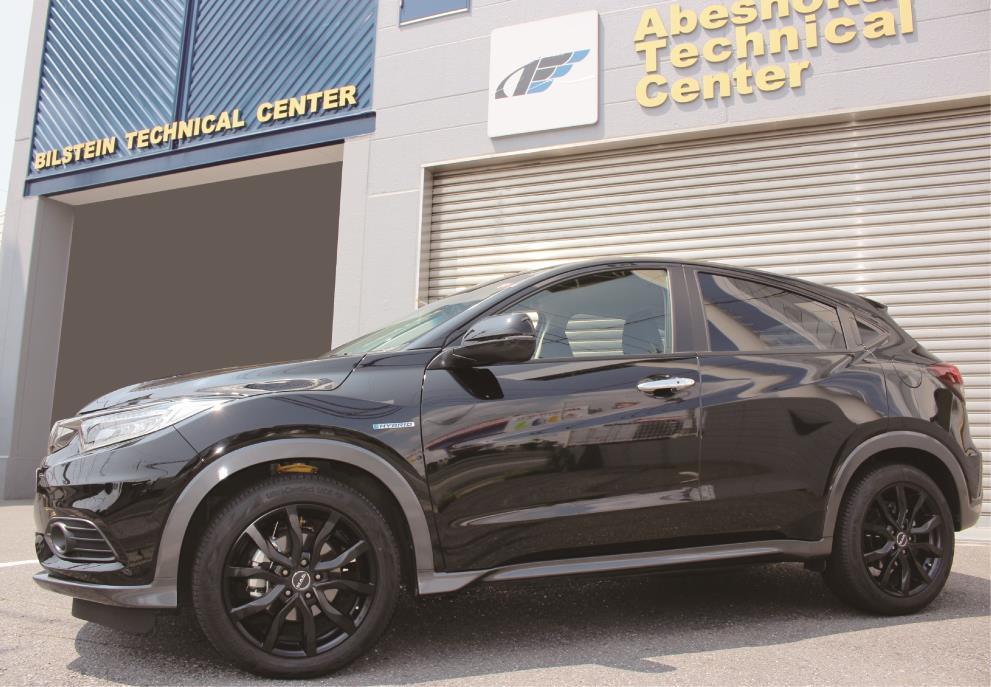新製品 HONDA ヴェゼル HYBRID 2WD用 B6 純正形状スポーツダンパー ご案内
