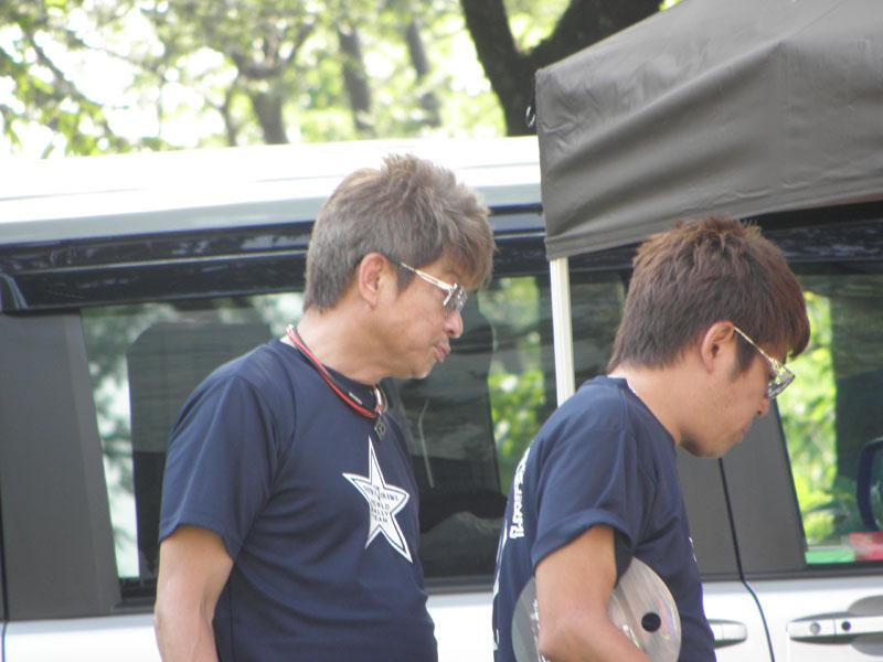 哀川翔選手がいらっしゃいました。