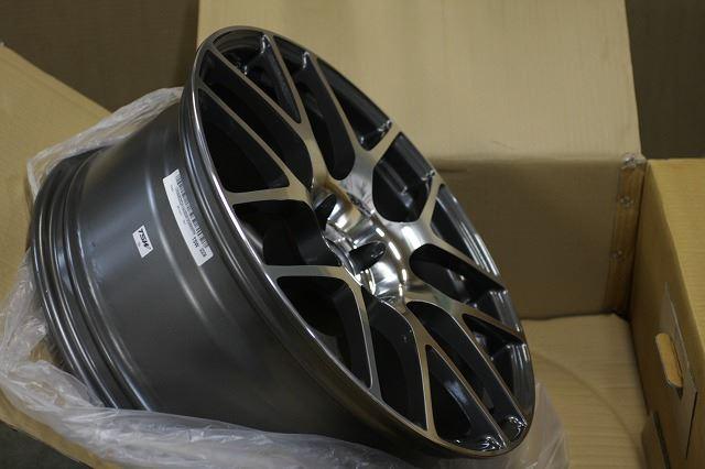 TSW Nurburgring MITSUBISHI ランサーエボリューション用 20インチ×8.5J ガンメタル w/ミラーカットフェイス
