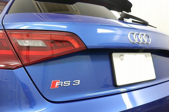 アウディ RS3 ガラスコーティング