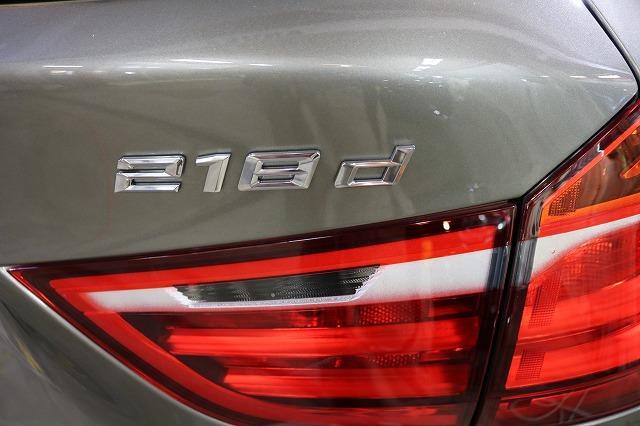 BMW 218d ガラスコーティング