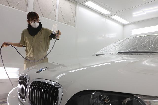 BMW アルピナ ガラスコーティング