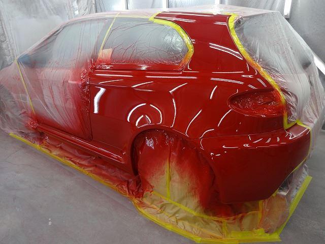 お車の塗装作業が終 ...