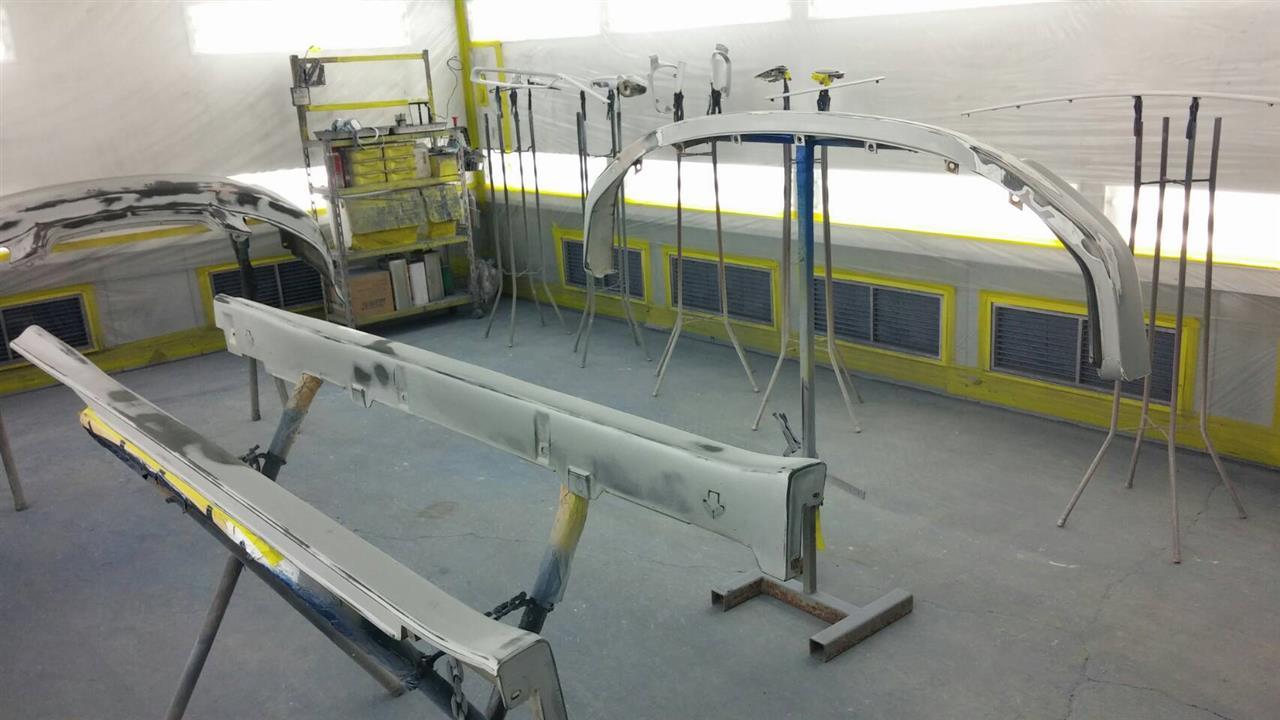 立川市の車の板金塗装修理工場 ガレージローライドのホンダ シビック タイプRの塗装劣化修理です。