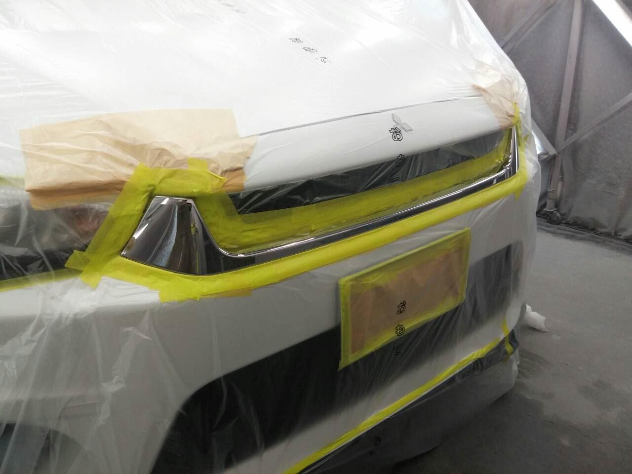 東京都立川市の車の板金塗装修理工場 ガレージローライドの三菱 RVRのカスタム等 です。