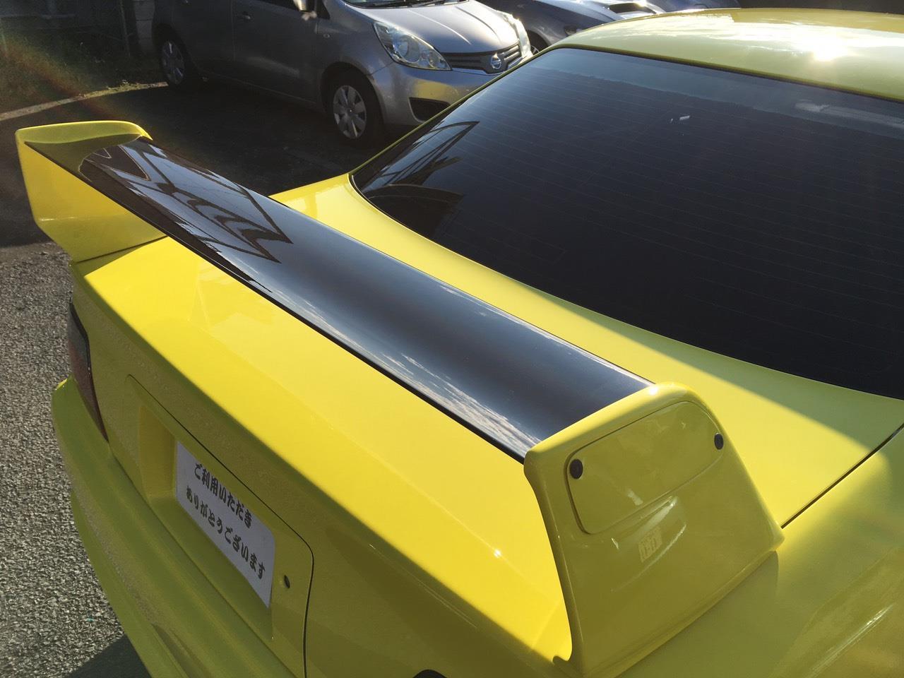 立川市の車の板金塗装修理工場 ガレージローライドのトヨタ チェイサーのオールペイント オールペン 全塗装 です。