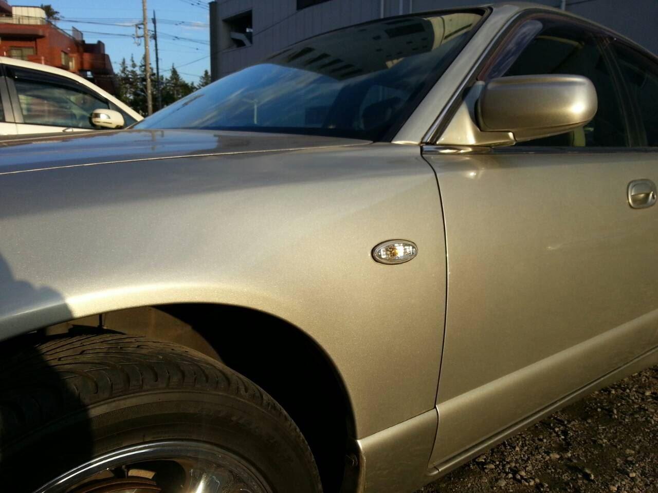 東京都立川市の車の板金塗装修理工場 ガレージローライドのマツダ ミレーニアの カスタム 加工 塗装 です。