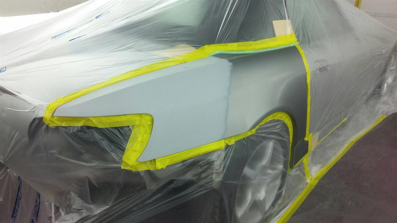 立川市の車の板金塗装修理工場 ガレージローライドのホンダ S2000の塗装劣化の板金 修理 塗装 です。
