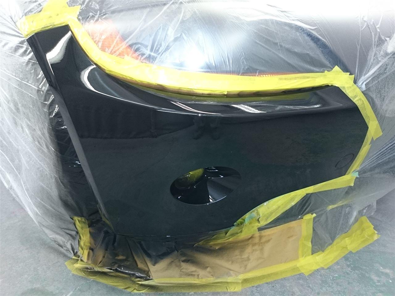 東京都立川市の車の板金塗装修理工場 ガレージローライドのBMW Z4の左側面等のキズ へこみ の板金 修理 塗装 です。
