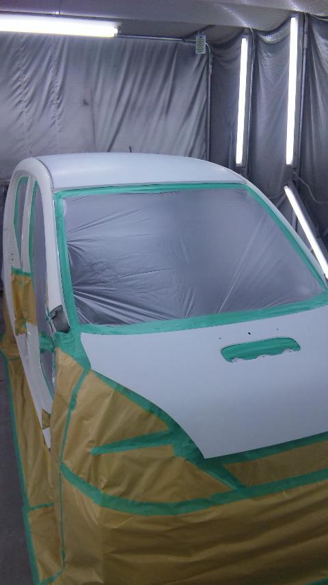 東京都 立川市の車の板金塗装修理工場 ガレージローライドのホンダ ライフのいたずらキズの車両保険を使った板金 修理 塗装です。