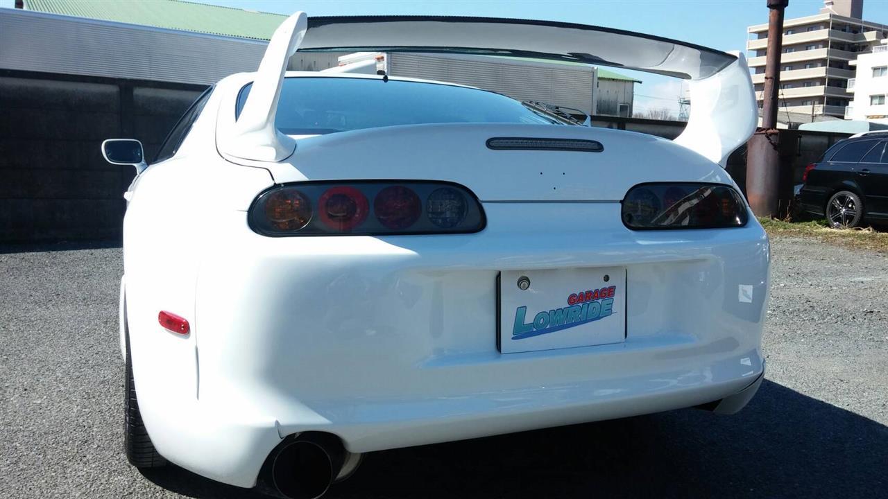 立川市の車の板金塗装修理工場 ガレージローライドのトヨタ スープラのオールペイント オールペン 全塗装 です。