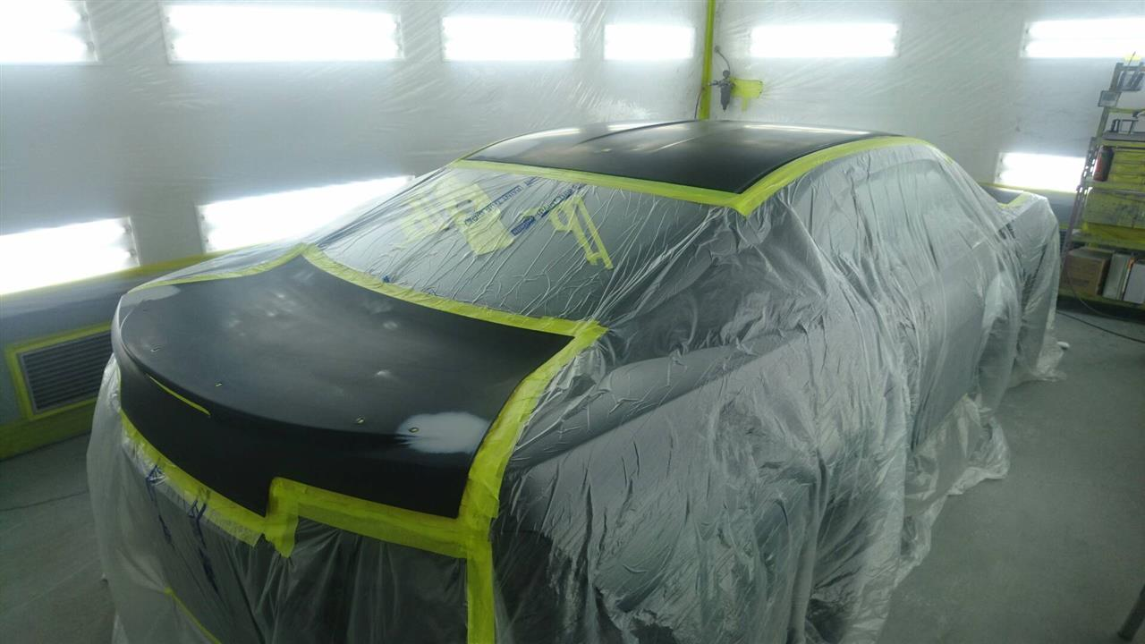 立川市の車の板金塗装修理工場 ガレージローライドのGM シボレー カマロのオールペイント オールペン 全塗装です。