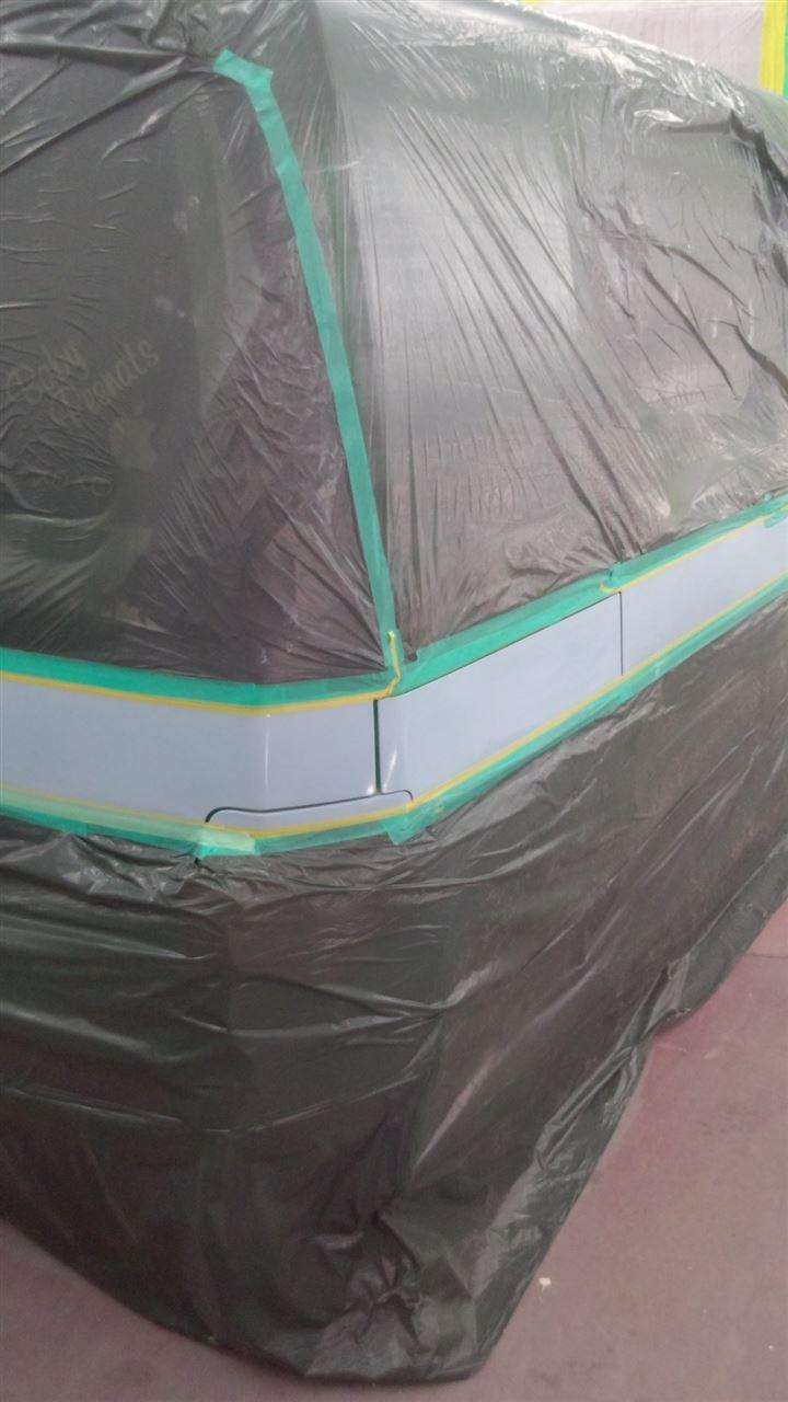 東京都立川市の車の板金塗装修理工場 ガレージローライドのホンダ モビリオのカスタムペイント 塗装 です。