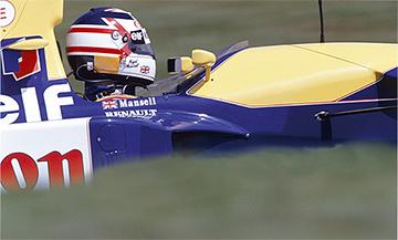 1992 エルフF1ワールドチャンピオン