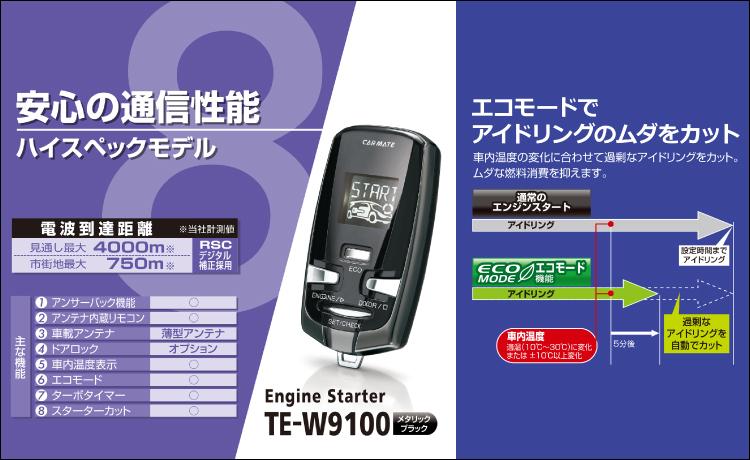 TE-W9100概要