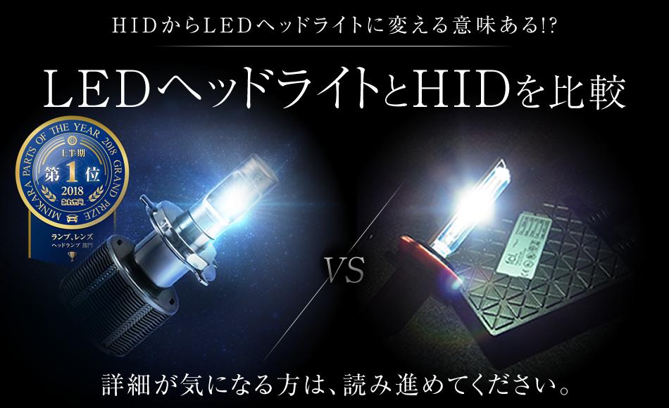 LEDとHIDどっちが取付しやすい?
