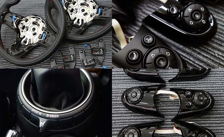 MINIの純正メーカーオプションパーツの後付け装着で快適なMINI LIFEを