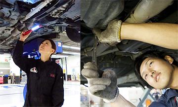 新卒自動車整備士