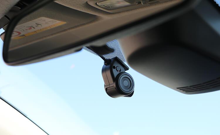 CA-DR03TDのフロントカメラ