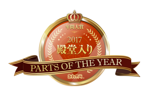 PARTS OF THE YEAR 2017 殿堂入り