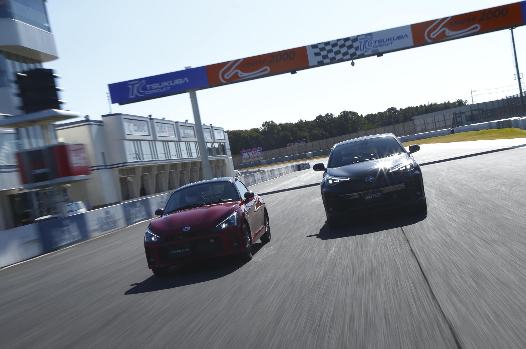 筑波サーキット Minkara Circuit Challenge Vol.10 Presented by TOYOTA GAZOO Racing